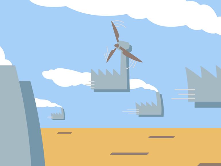 """""""Unsere"""" Industrie - Vorreiterin auf dem Weg zur Energiewende?"""
